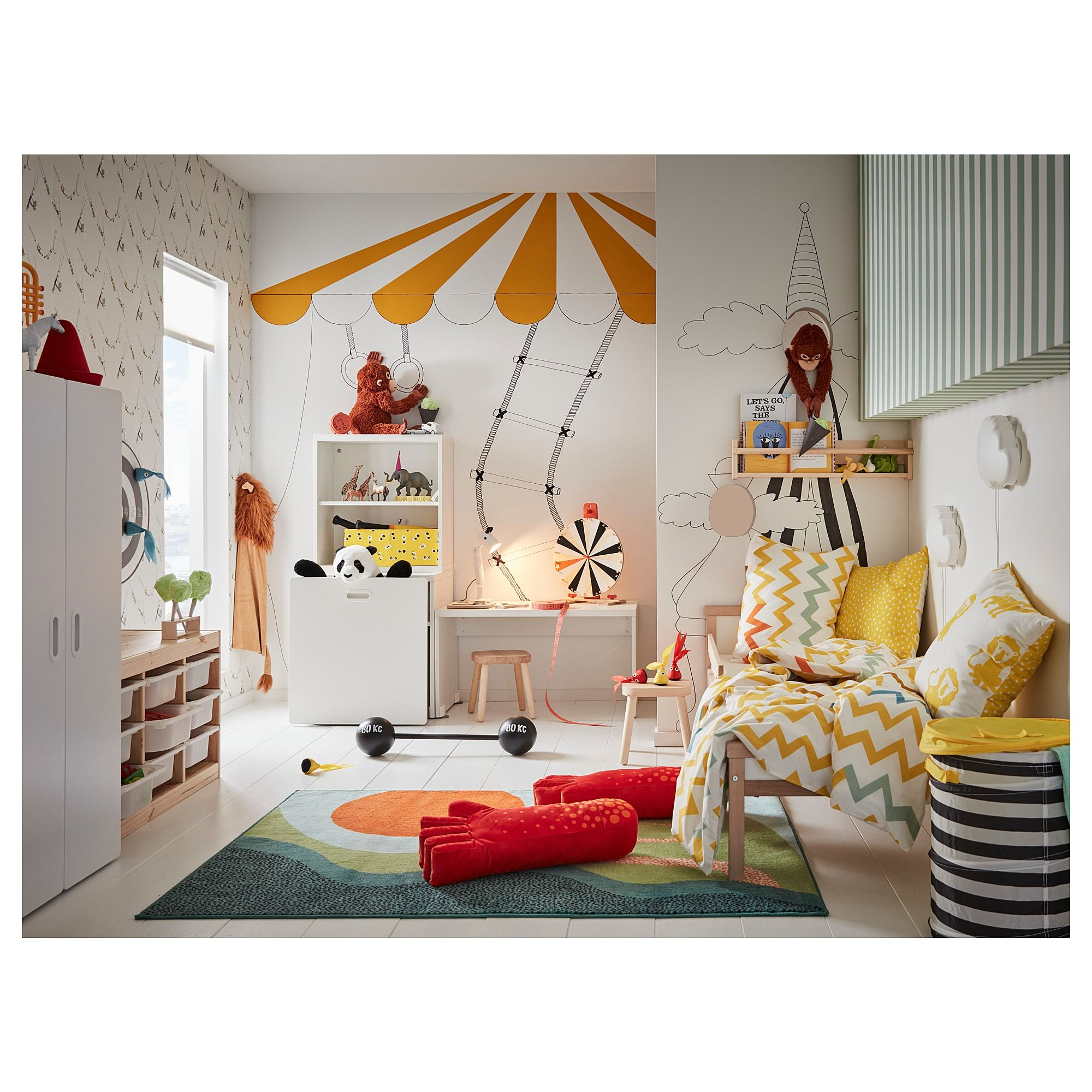 Stuva Fritids Table With Toy Storage White White Ikea In 2020 Kids Room Design Ikea Kids Room Childrens Bedroom Decor