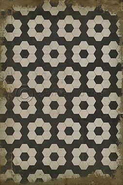 spicher & co. vinyl floor cloth pattern 2 resonance | floor cloth