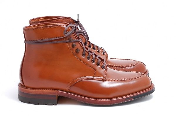 ca8a41a5026 Alden x Leffot Whiskey Shell Cordovan Tanker Boot | Zapatos in 2019 ...