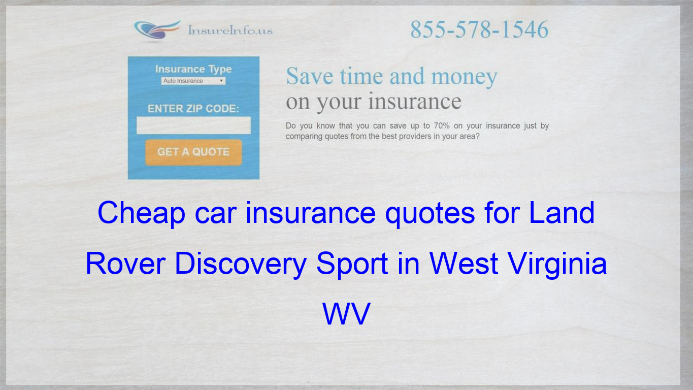 Pin On Cheap Car Insurance Quotes For Land Rover Discovery Sport