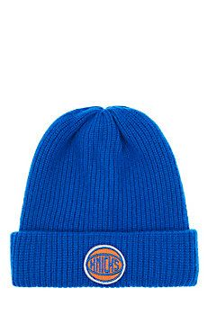 9a28170f333 New York Knicks Logo Cashmere Watchman s Cap