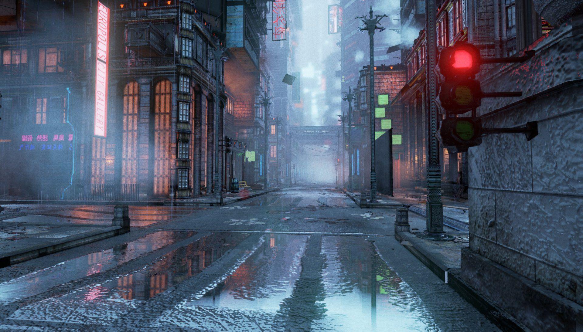 ArtStation - Europolis, Sami Bashir | Cyberpunk/Dystopian