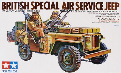 TAMIYA 1//35 British L.R.D.G Command Car Desert Chevrolet Model Kit NEW Japan