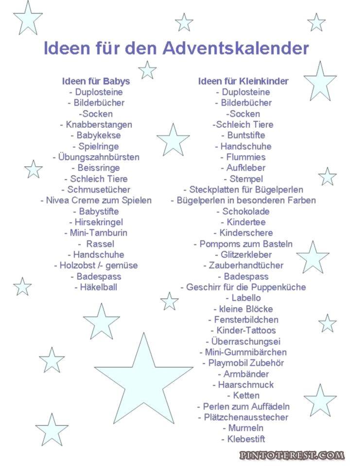 Ideen für den Adventskalender  Teil 1 (Kinder)  Dieses Jahr muss ich gleich #adventskalendermann