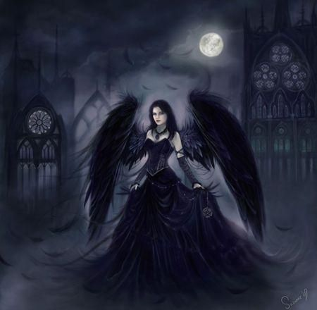 Female Dark Angels, or more commonly known as Demons, look like ...