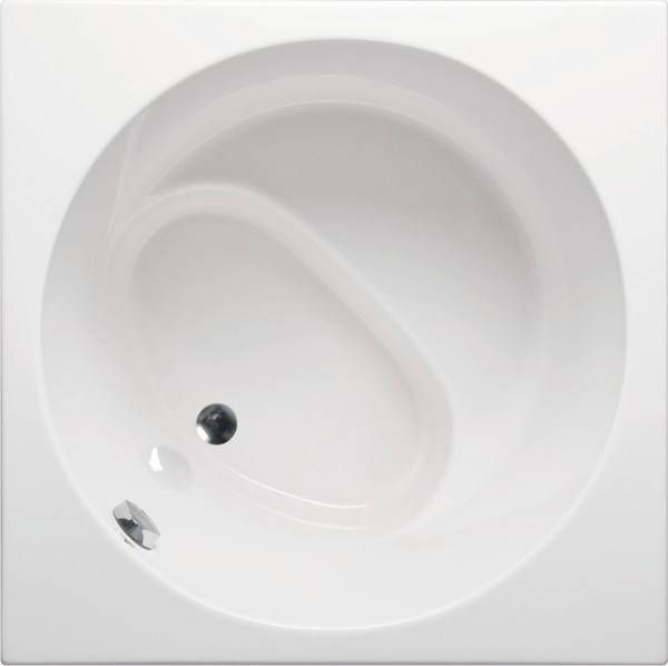 Japanese soaking tub with seat beverly 4040 japanese for Soaking tub with seat