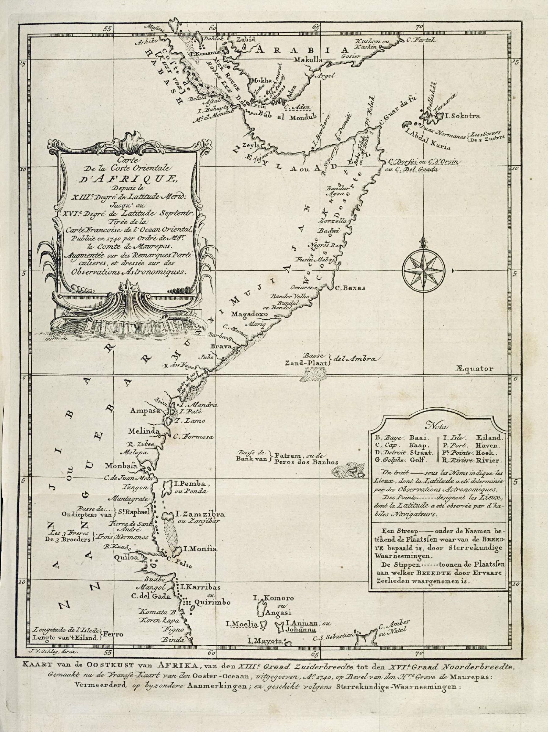 Amh Kb Map Of Part Of The East Coast Of Africa