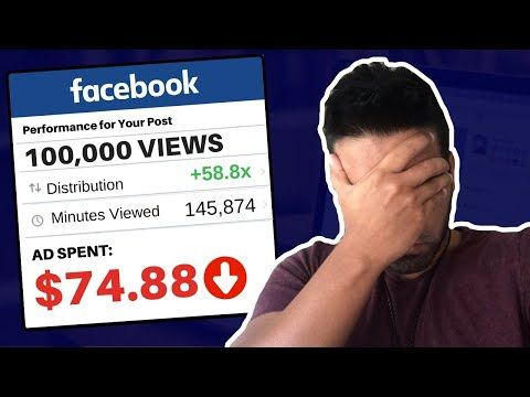 I Paid for 100000 VIEWS on Facebook (heres what happened)