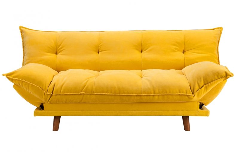 convertible design scandinave jaune