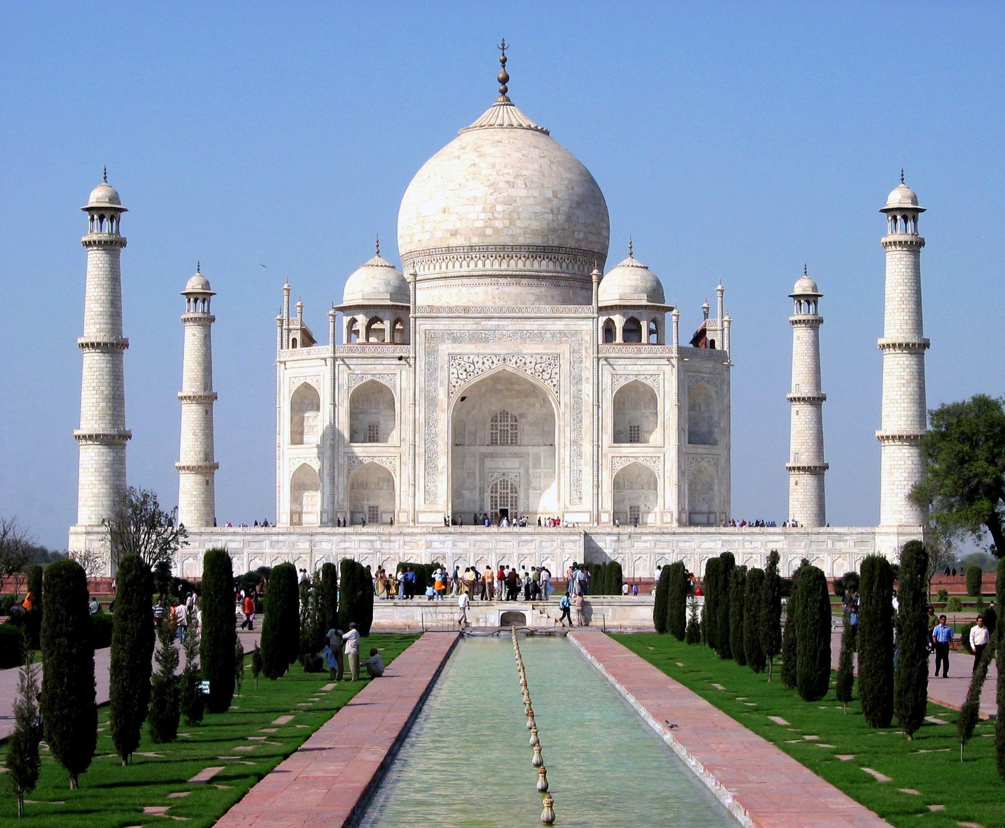 Indian Monument Attractions Taj Mahal North India Tour Taj