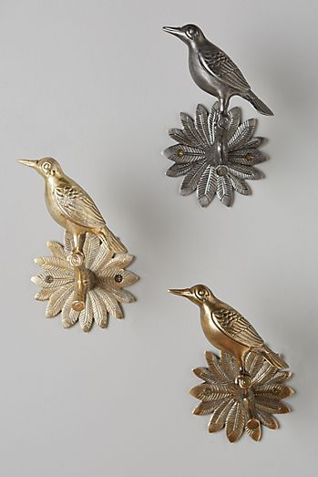 Gilded Aviary Tieback Bird Curtains Curtain Hardware Home Hardware