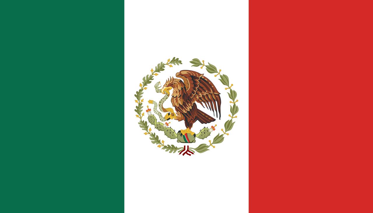 Flag Of Mexico Wikipedia In 2020 Mexico Flag Flag Mexico