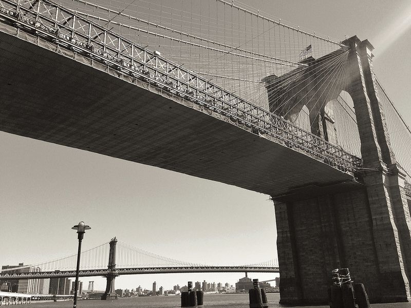 Running views - Brooklyn Bridge | New york cityscape ...