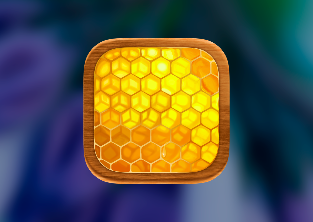IOS 7 honey icon on Behance