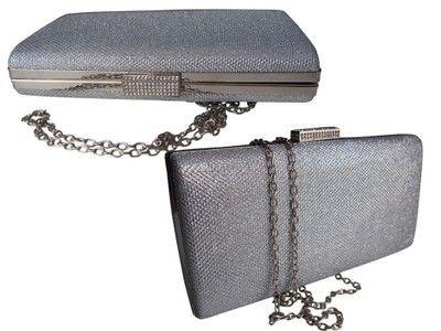 Torebka Duza Brokatowa Kopertowka Cyrkonie Wesele 6770095359 Oficjalne Archiwum Allegro Wallet On A Chain Wallet Chain