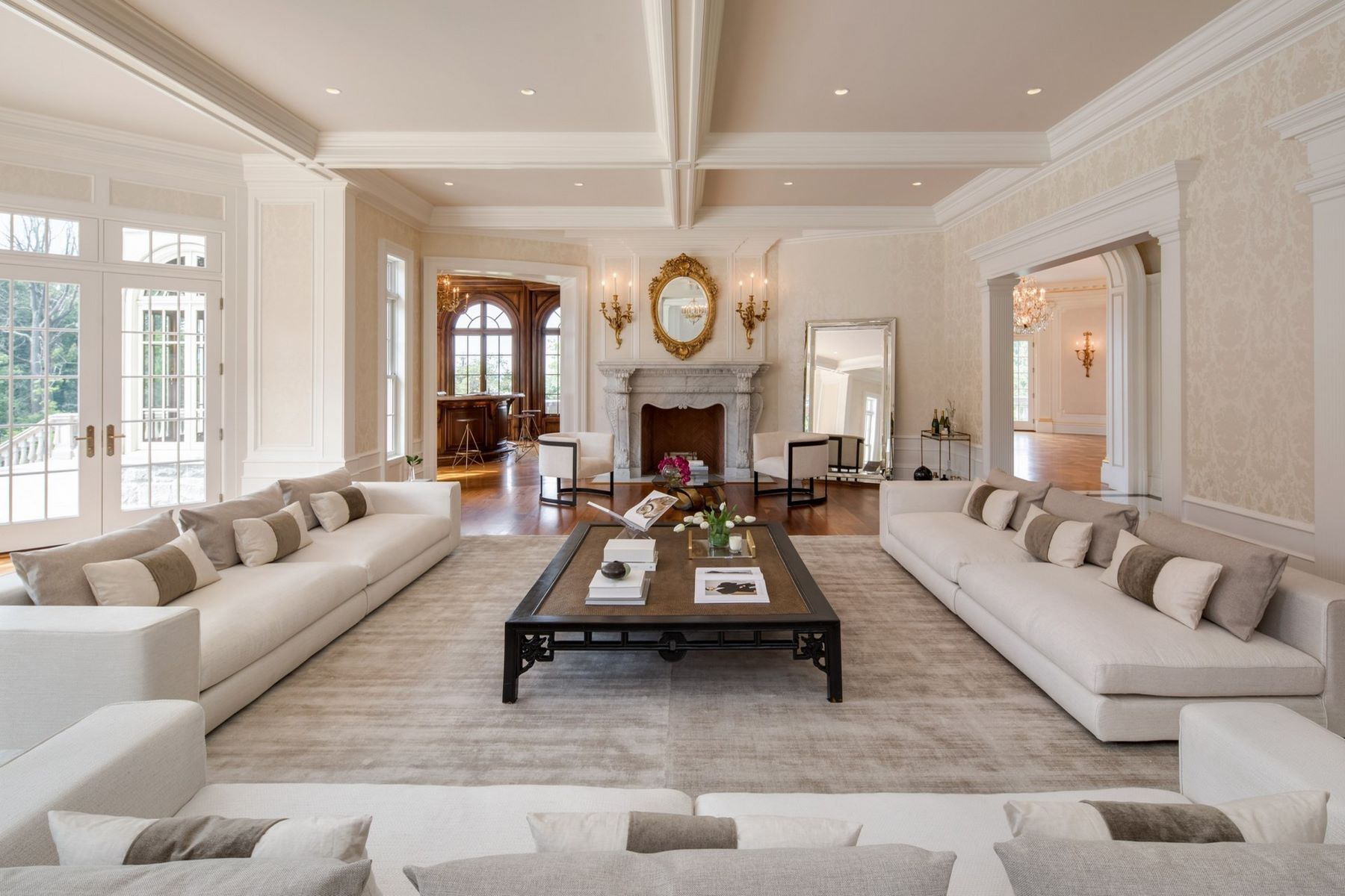 1 Frick Drive Alpine New Jersey United States Luxury Home For Sale In 2020 Luxury Homes Formal Living Rooms Mansion Living