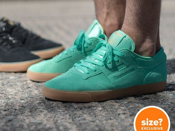 JUST LIFE STYLE™®: Reebok Workout Low Mint Gum.