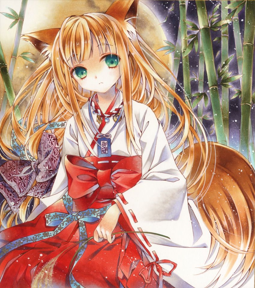 Agree, Cute girl with fox tail entertaining message