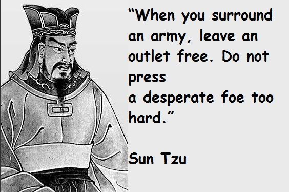 The Art of War by Sun Tzu is one of my favorite books.