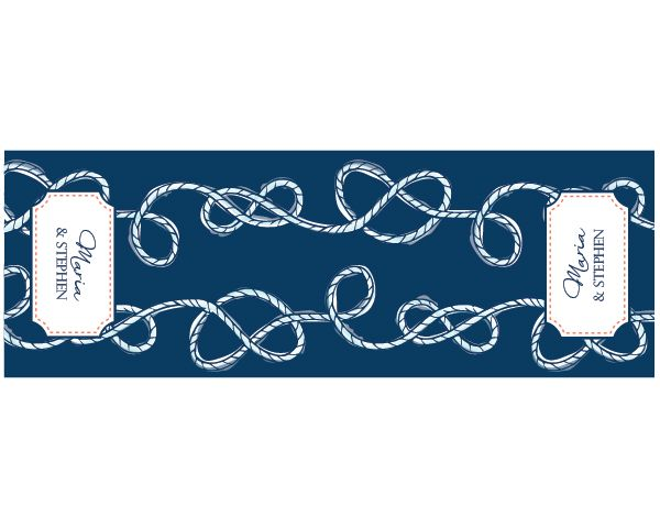 Nice Personalized Nautical Table Runner. Starts @ $21.99
