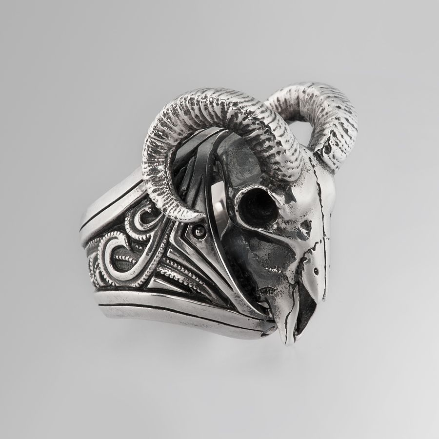 ba279a6bc5181 The Goat | Rings by Oz Abstract Tokyo | Online Boutique Oz Abstract Tokyo,  Japan