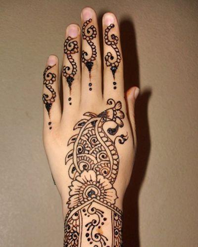 Gambar Membuat Henna : gambar, membuat, henna, Motif, Cantik, Henna, Membuat, Terlihat, Lebih, Menarik., Mehndi, Designs,, Henna,, Desain