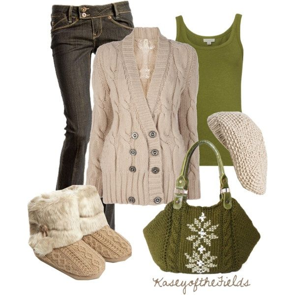 Winter outfit. 99 #outfits #bags #shoes #accessories #moda #fashion #styles #jewelry #clothes #winteroutfits #jeans #abrigos #sweter #greenolive