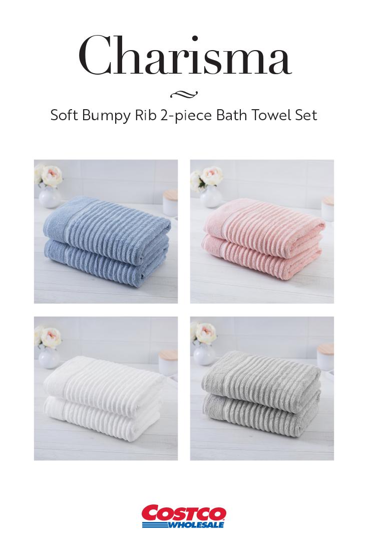 The Charisma Bumpy Towel Transforms Your Bathroom Into A Spa