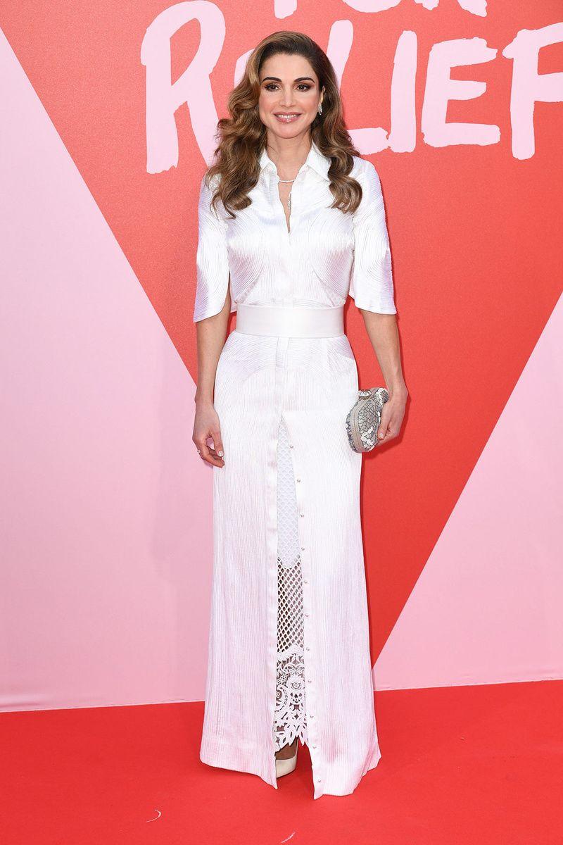 Rania de Jordania - Cannes 2017   Moda   Pinterest   Jordania ...