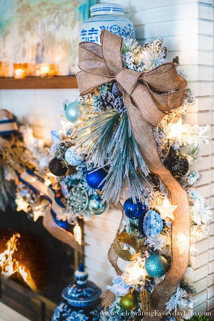 How to Decorate a Spectacular and Cheap Christmas Garland ...