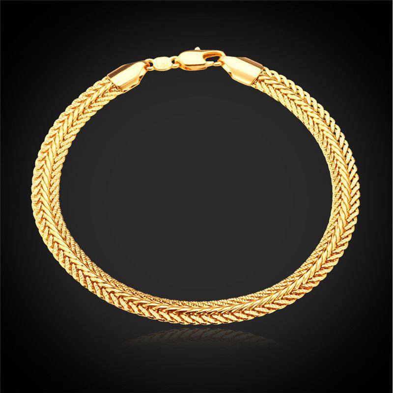 Kpop Bracelet Men Jewelry Trendy Gift New Fashion Jewelry Gold