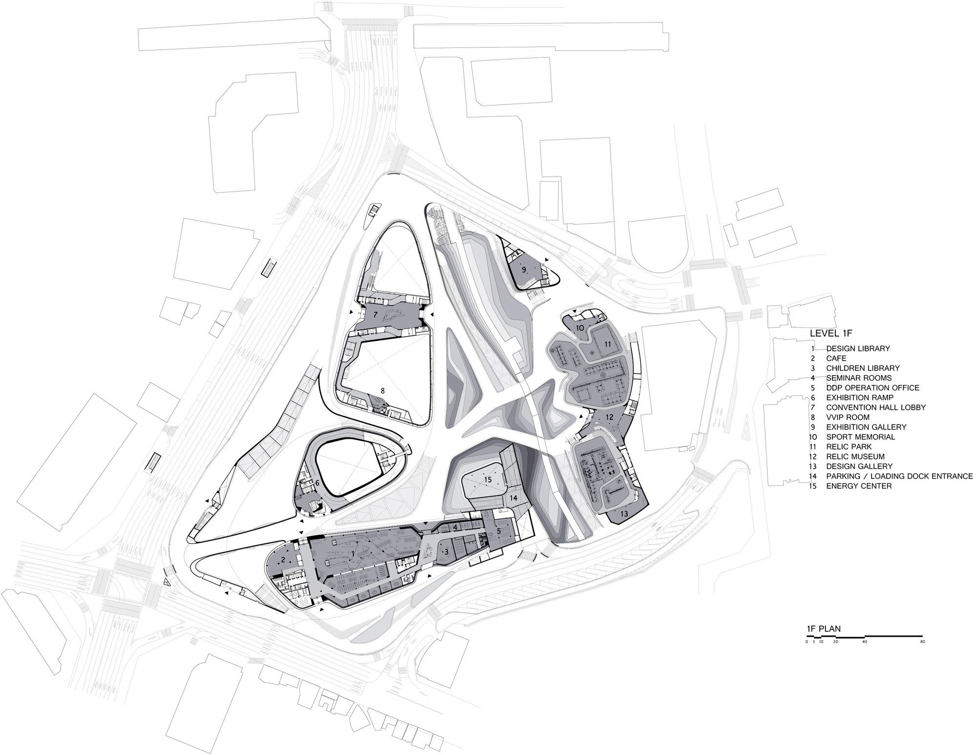 zaha hadid site plan Google Search Drawings Pinterest – Site Drawings For Site Plan