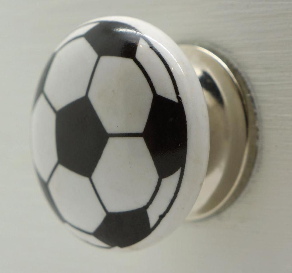 Ceramic Football Door Knobs | http://retrocomputinggeek.com ...