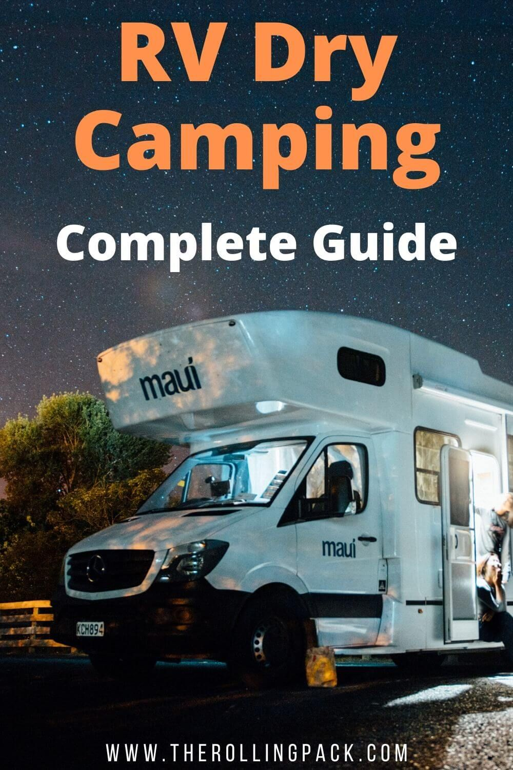 Photo of RV Dry Camping Guide