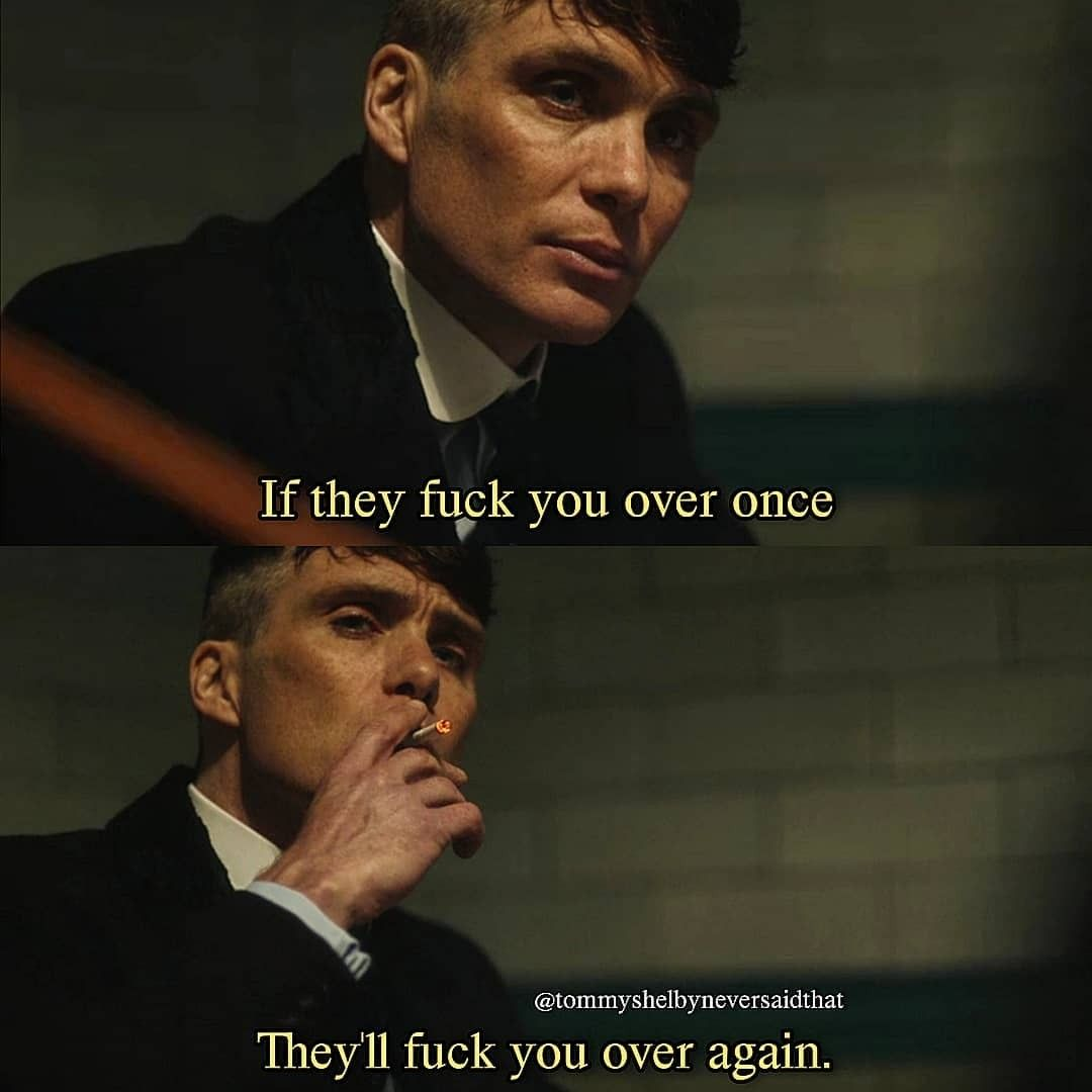 Idea by Bᴀꜱɪᴄ Gɪʀʟ on quotes | Peaky blinders quotes ...