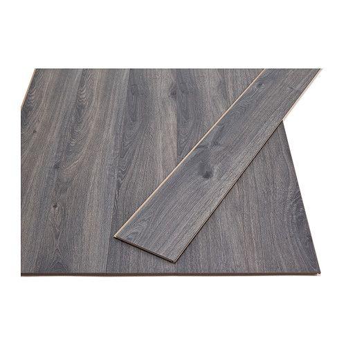 Oppgave 10 GOLV Laminatgulv IKEA Laminert overflate: et slitesterkt gulv for kontoret og alle rom i hjemmet. Ikke beregnet for våtrom.