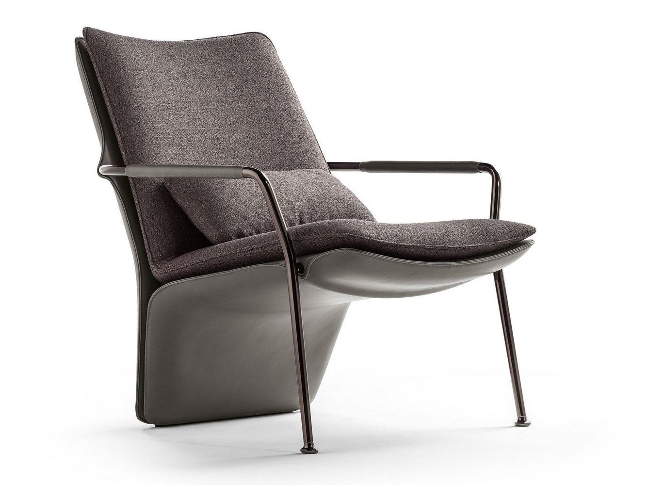 Armchair with armrests arabesque armchair by poltrona frau