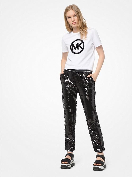 Sequined Joggers Michael Kors in 2020 Sportswear