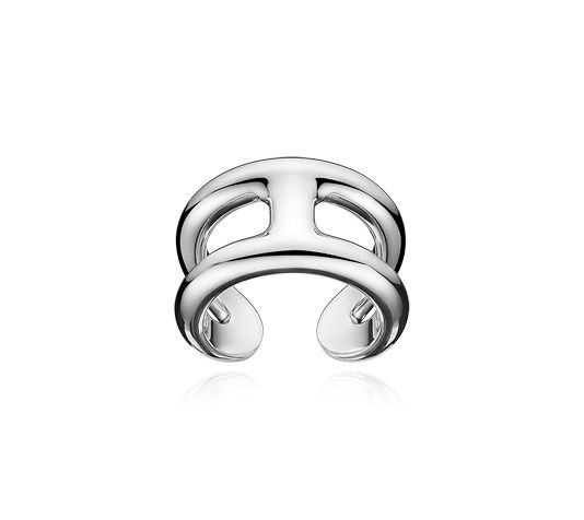 Osmose Hermes ring in sterling silver, PM, size 46 The Osmose collection  plays part 17281b1584d