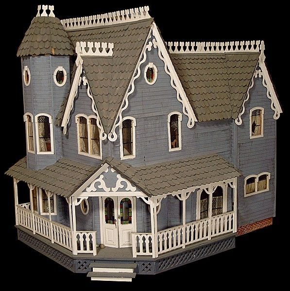 """The Haunted House Built From The Greenleaf """"Pierce"""" Kit"""