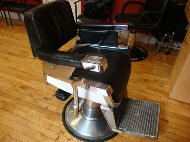 Vintage Barber Chair For Sale