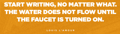 Writing Tips   Louis L'Amour   Tumblr