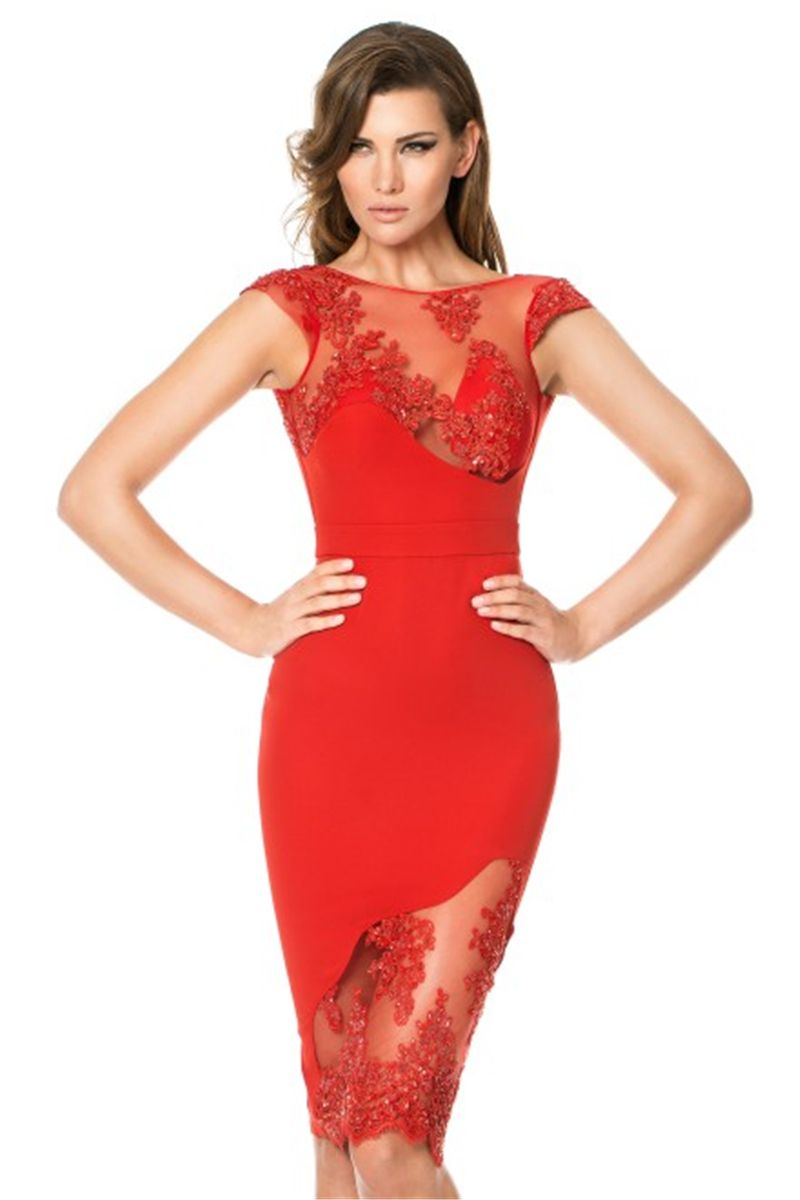 Red cocktail dress at macys holiday dresses cocktail dresses