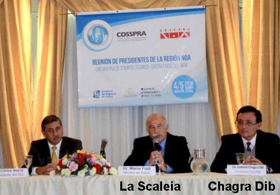 La denuncia de fraude sistematico, también menciona al Dr. La Scaleia, el…