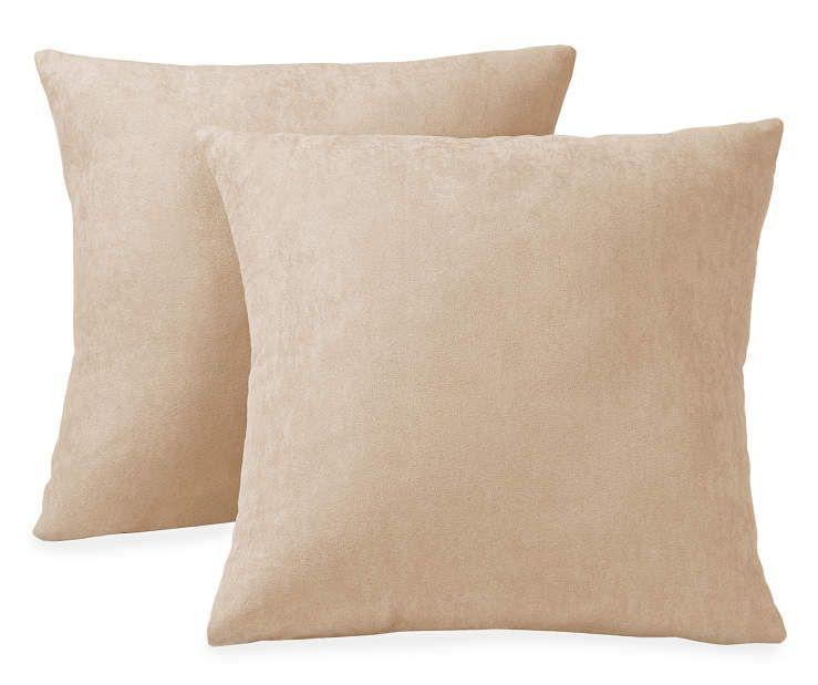 Tan Throw Pillows 40Pack 40 X 40 At Big Lots Home Sweet Unique Big Lots Decorative Pillows