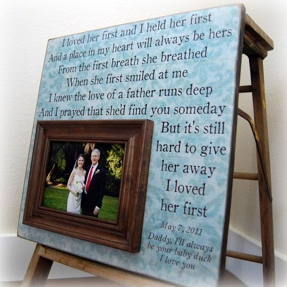 Parents Gift For Parents Personalized Picture Frame Wedding Gift ...