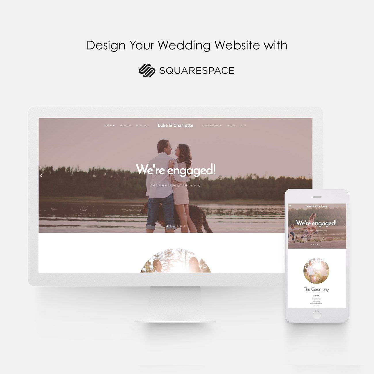Set Up Your Wedding Website This Weekend With Squaree