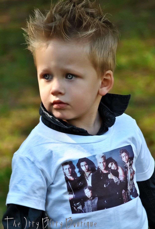 Toddler Boy Long Blonde Hair Surfer: The Lost Boys Toddler Tee $17.00, Via Etsy. The Kid's Eyes