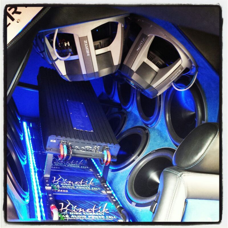 Power Block Sundown Silverado Powa Tag Me In Your Build: Our Ford Rs Van With Hertz Car Audio In It. It 's Got A