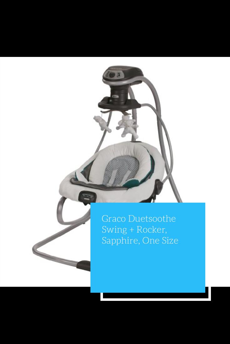 Graco Duetsoothe Swing Rocker Sapphire One Size Graco Rocker Swing